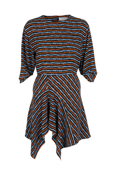 Kirsti Dress Blue Haze Print