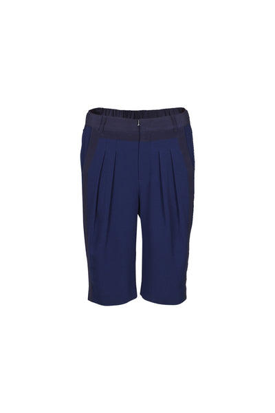 Latita crepe shorts navy