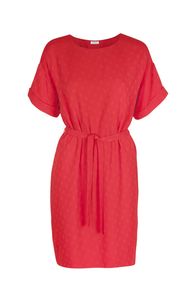 Leyla dress scarlet
