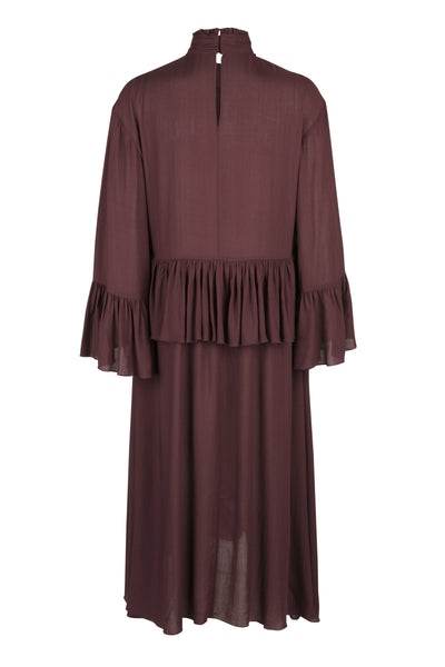 Lillie dress wine