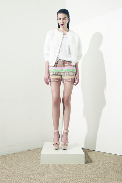 Fairy printed shorts