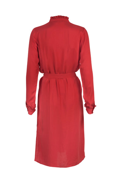 Louise Dress Autumn Red