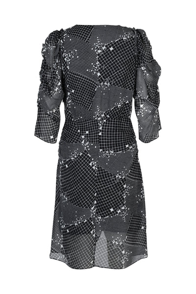 Lea Dress Black Print