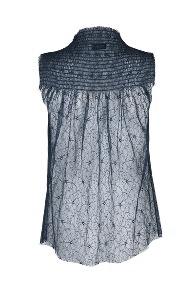 Marie lace top midnight