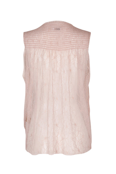 Marie lace top rosedust