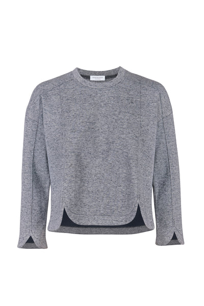 Modeste blouse light grey mélange