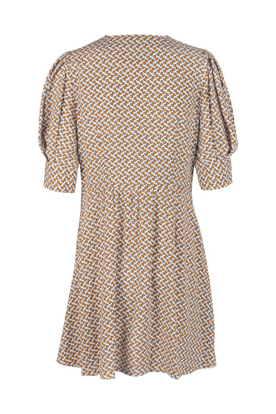Marisa Dress Bronze Print