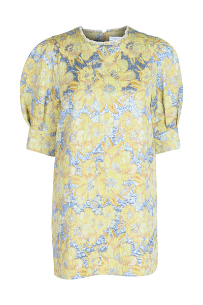 Nina lemon grass dress