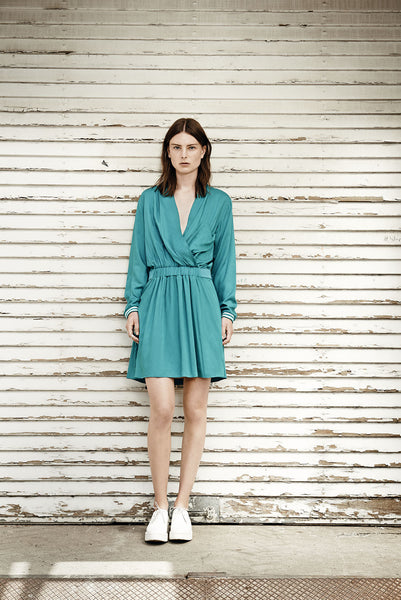 Laurie dress emerald