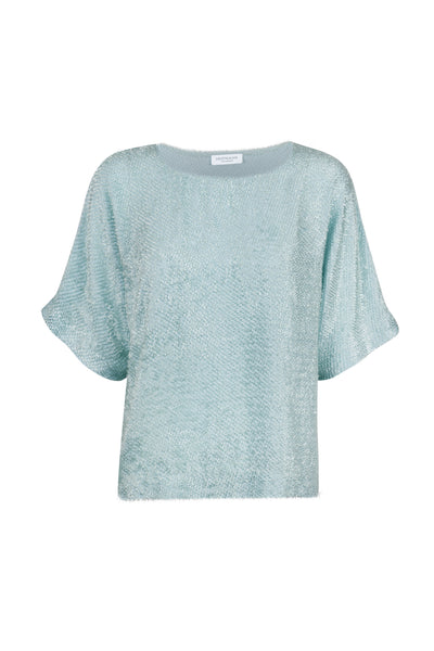 Riva silk mix top