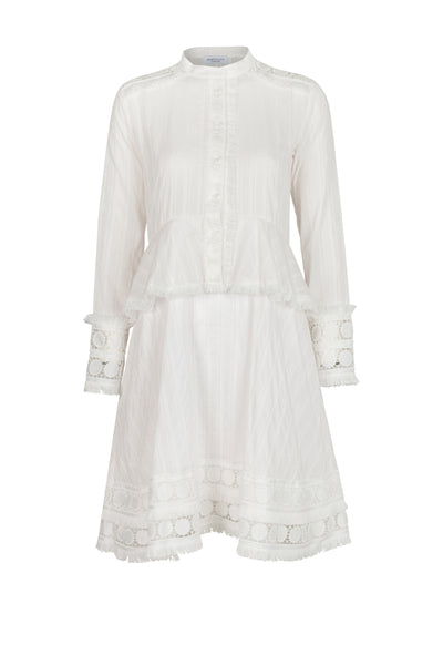 Rochelle Dress white