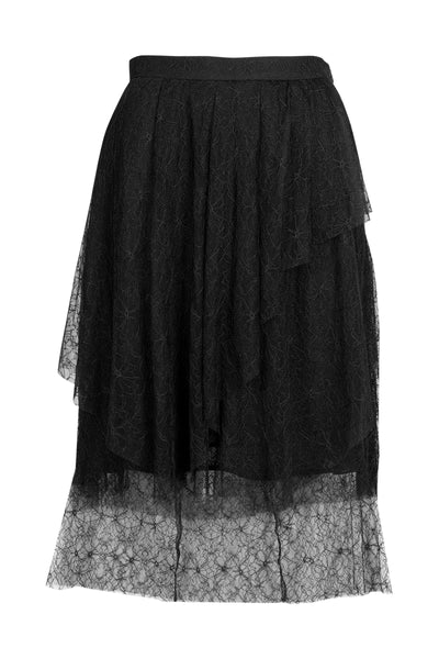 Romie Lace Skirt Black