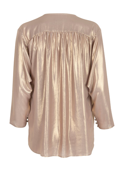 Rosana shirt natural gold