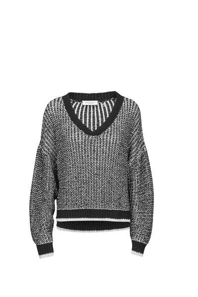 Samiele knit sweater black