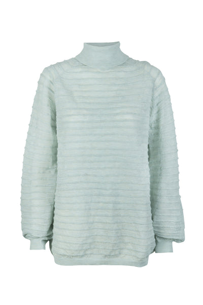 Sibella sweater pale aqua