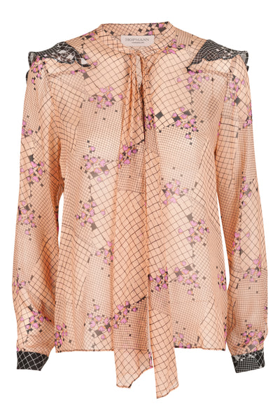 Victoire Shirt Apricot Ice Print