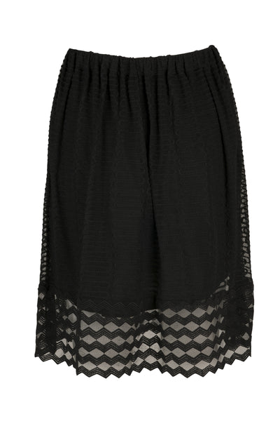 Zooey lace skirt black