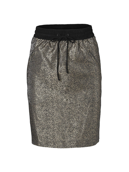 Betti skirt black and gold