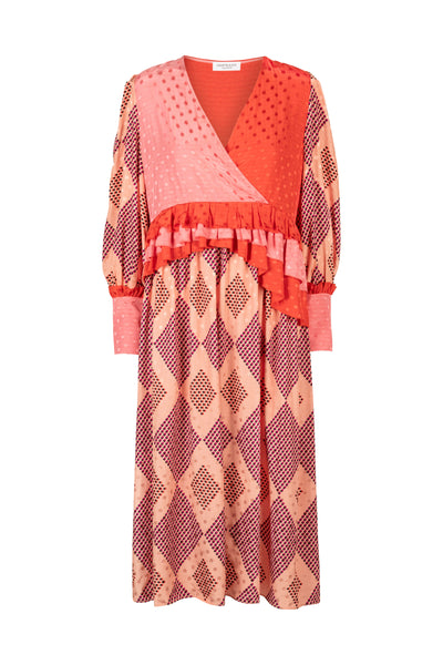 Chloé Rosecloud Print Dress