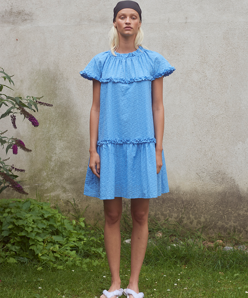 Corinne Pacific Blue Dress