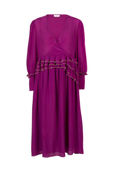 Ellie Deep Orchid Dress