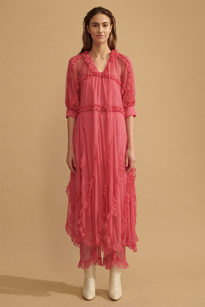 Greta Begonia Pink Dress