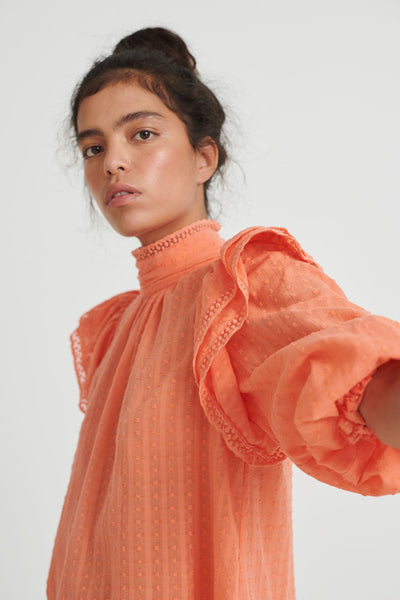 Bellis Coral Blouse