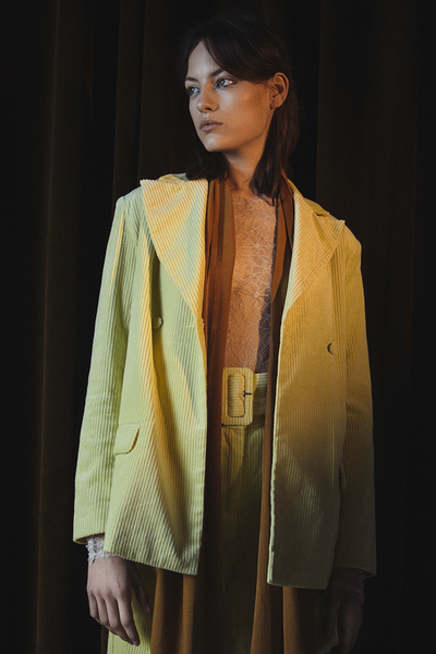 Saskia Jacket Lemon Grass