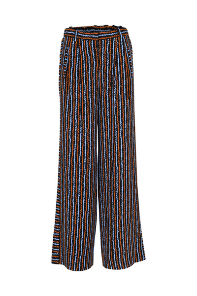 Silvia Pants Blue Haze Print