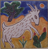 Art tile from Alhambra Tiles