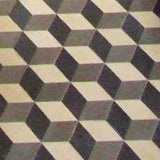 Cubic and 3D tile designs from Alhambra Tiles