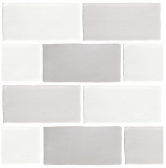 Antic Crackle-Glaze Wall Tile - Mixed Colours