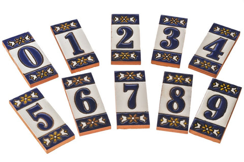 Ceramic Door Numbers