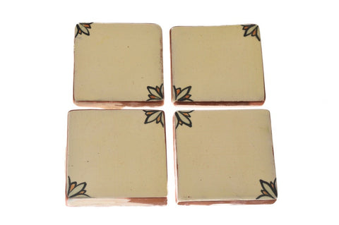 Cream Handmade Tile