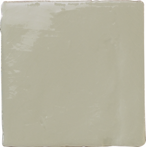 Provenzal Crackle-Glaze Wall Tile - Ash