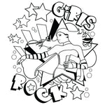 GIRLS ROCK SWAG BAG