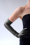 Long leather gloves are back!!