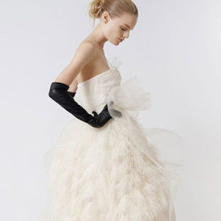 Choosing Ines Gloves for your wedding