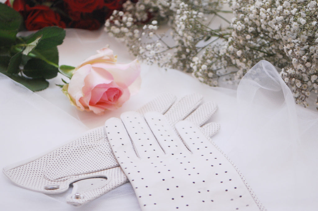Wedding and Bridal Gloves by Ines