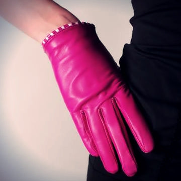Ines Short Classic Leather Gloves