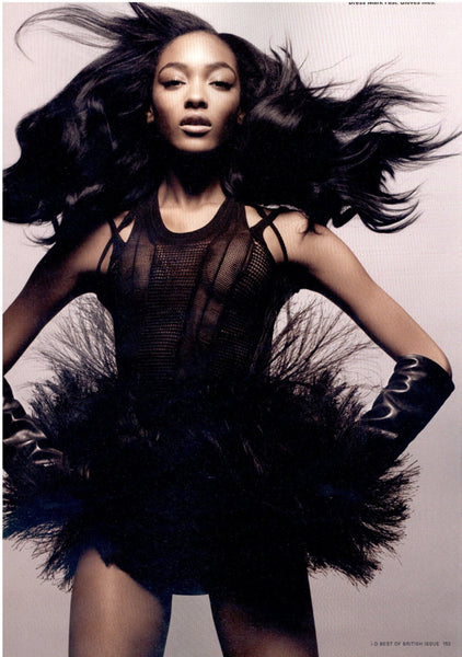 Jourdan Dunn styled by Edward Enningful for ID-Magazine - Ines Gloves