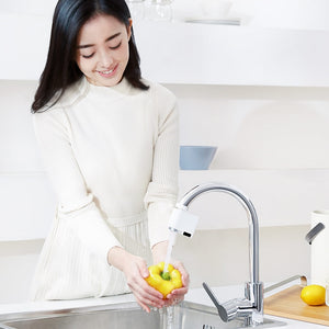 Original Xiaomi Zajia Induction Water Saver overflow smart faucet sensor Infrared water energy saving device Kitchen Nozzle Tap