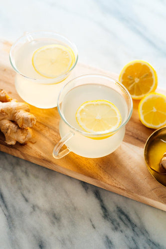 April Herbal Tea Bundle - Honey Flavor: Ginger