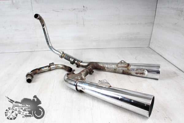 Orig. Exhaust with some rust manifold fixed Honda VT500E PC11 83-88