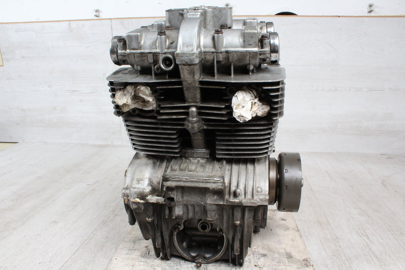 Orig. TOP engine without attachments 48tkm Suzuki GS 450 L GL51D 85-87