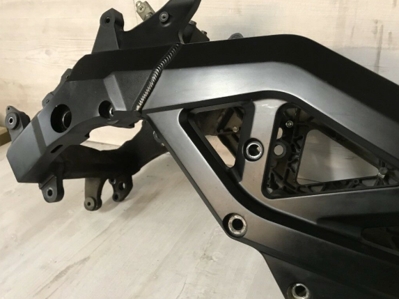 Orig. Frame main frame papers German Suzuki SV650S ABS WVBY 07-08