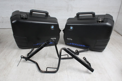 Orig. TOP Case SET Luggage Rack + 2x Case BMW F650 ST 169 93-00
