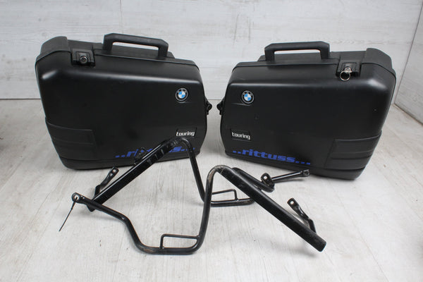 Orig. TOP Case SET Portapacchi + 2x Custodia BMW F650 ST 169 93-00