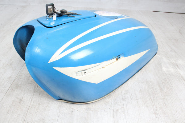 Réservoir de carburant bleu TOP NO RUST Honda CB 500 Four 71-77