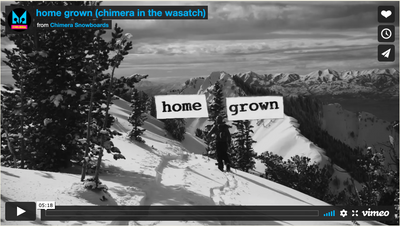 Home Grown - Chimera in the Wasatch